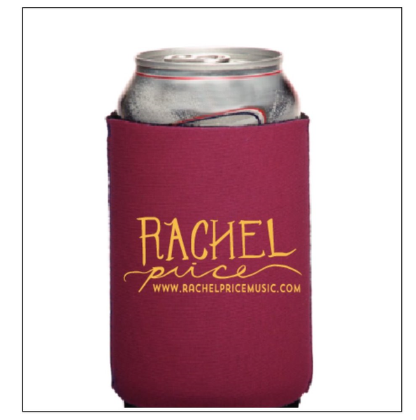 Rachel Price Logo Can Coolers