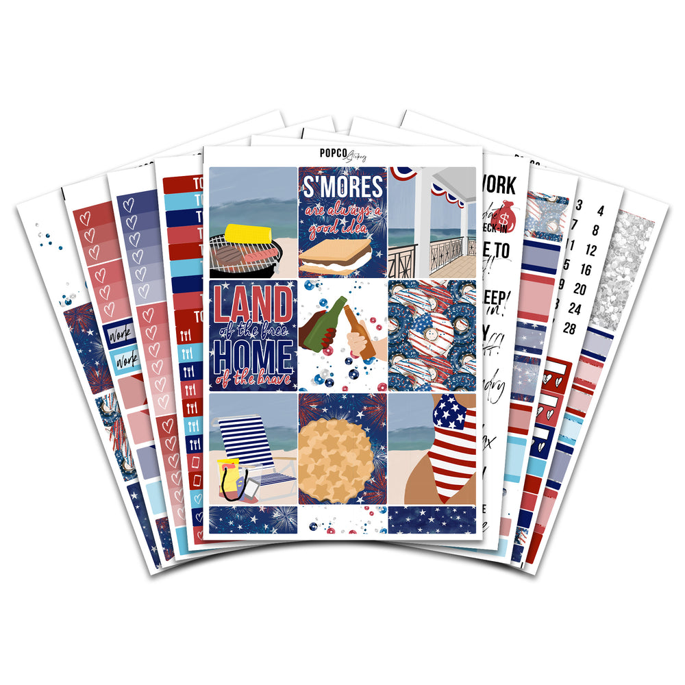 America (4th of July) Weekly Collection (A La Carte)