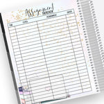 Assignment Tracker Notes Page Kit