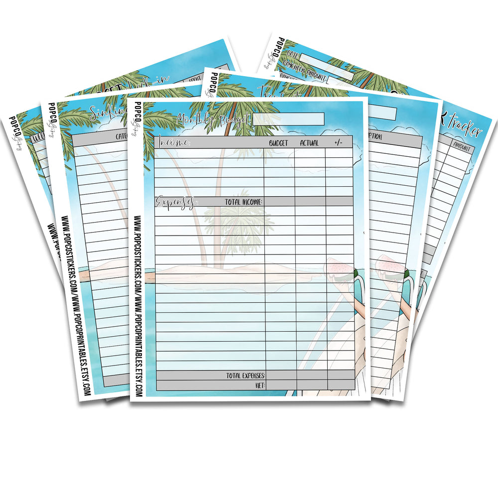August Budgeting Notes Pages Pack!