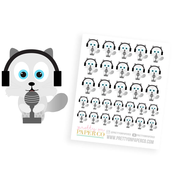 Podcast Baymax - Planner Stickers