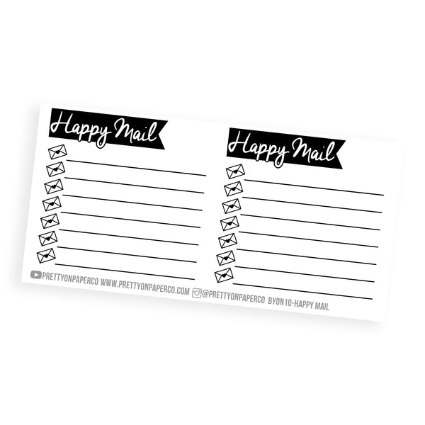 Happy Mail Boxes - Build Your Own Notes Kit