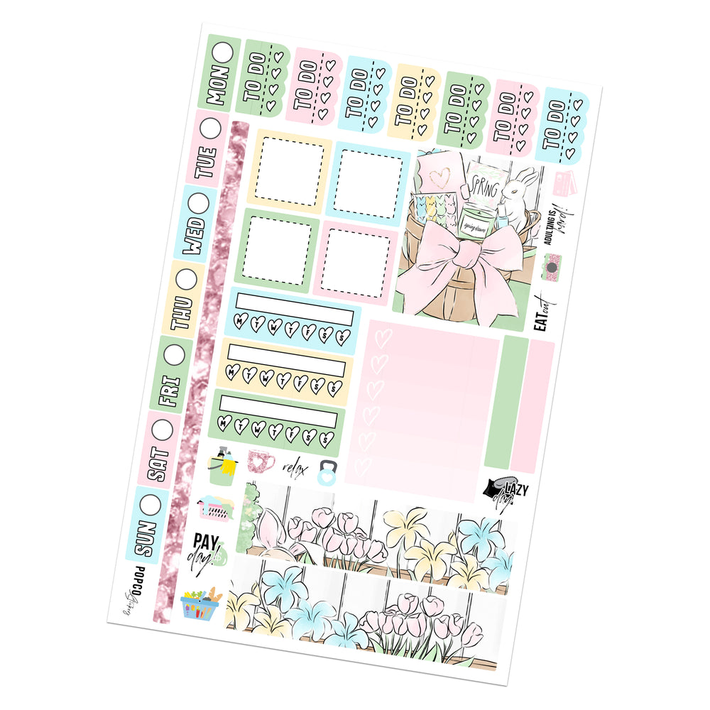 Egg Hunt Hobonichi Weeks Kit