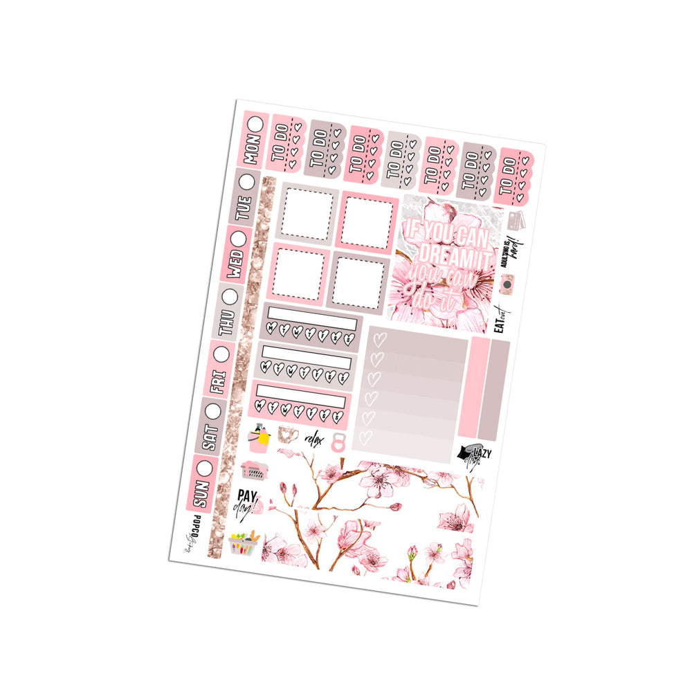 Floral Dream Hobonichi Weeks Kit