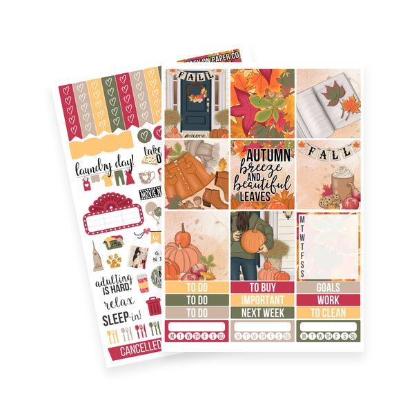 Happy Fall Mini/Horizontal Kit