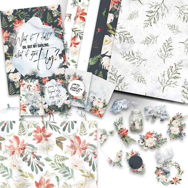 January Rings n Strings Decorative Kit! NO COUPONS