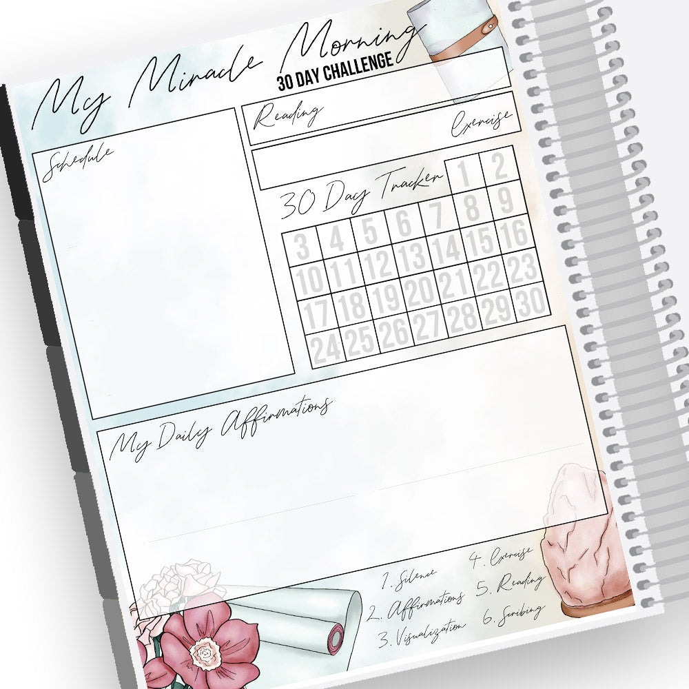 Miracle Morning Notes Page Kit