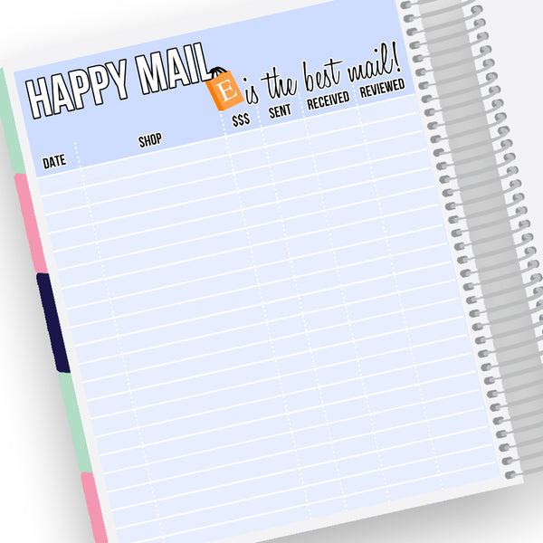 Happy Mail Notes Pages Kit- Planner Stickers