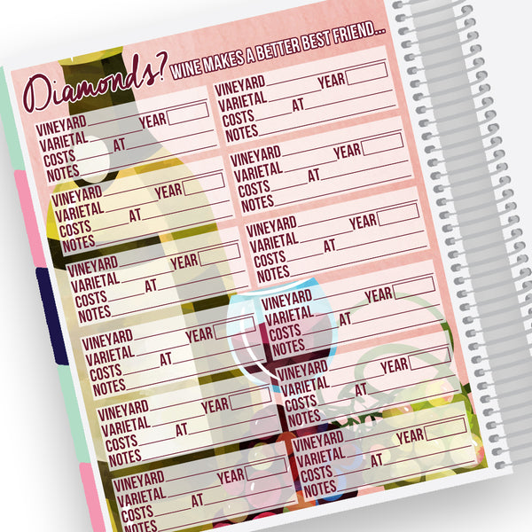 Wine Notes Page Kit
