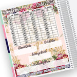 52 Weeks Savings Notes Page Kit