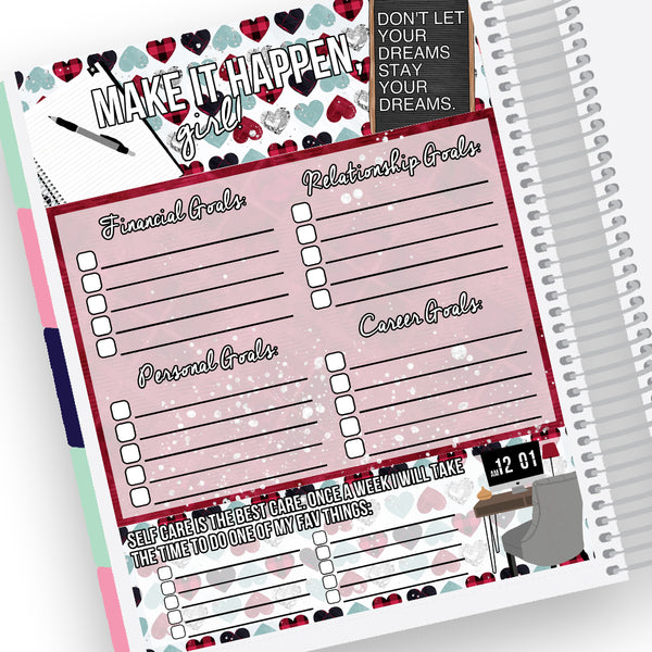 Goal Setting Notes Page Kit