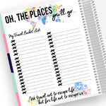 Travel Bucket List Notes Page Kit
