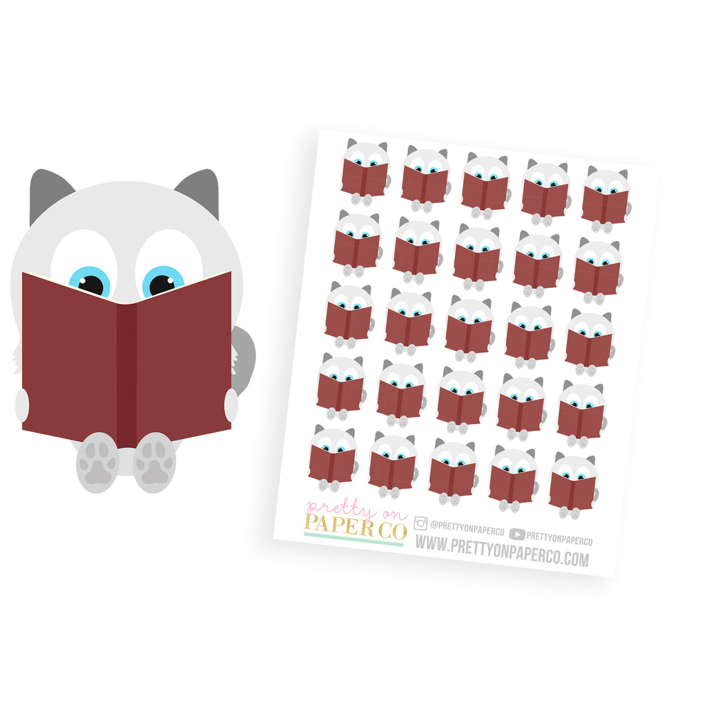 Baymax Reads - Planner Stickers