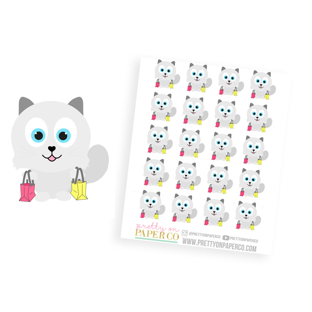 Baymax Goes Shopping - Planner Stickers