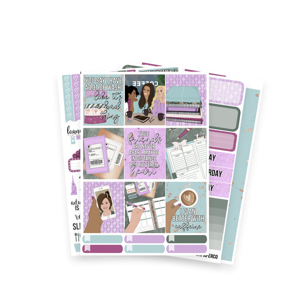 Planner Friends Weekly Collection