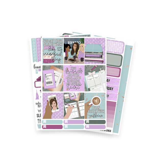 Planner Friends White-Space Kit