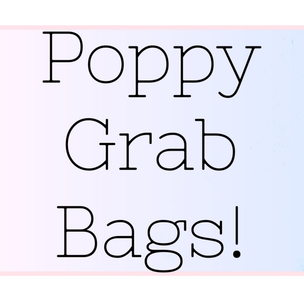 CLEARANCE Poppy Grab Bags