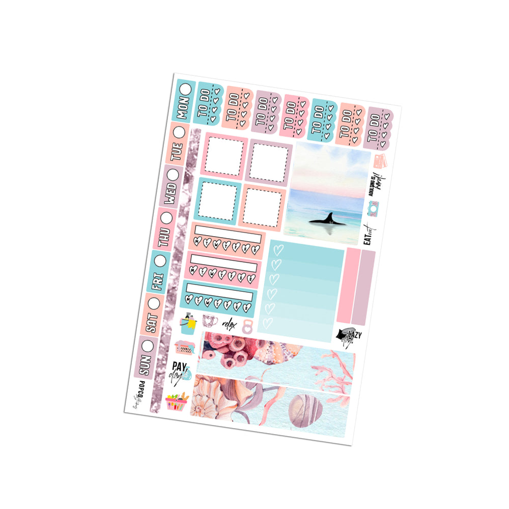 Sea Life Hobonichi Weeks Kit