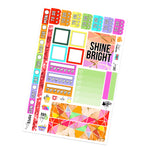 Shine Bright Hobonichi Weeks Kit
