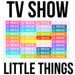 TV Little Things Stickers