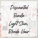 Digital Tuesday - Glam New Year Bundle - Light Skin, Blonde Hair