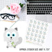 Baymax Pays Bills - Planner Stickers