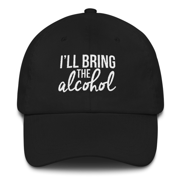 I'll Bring the Alcohol (BFF Hat) Peaked Hat (5 Colors)
