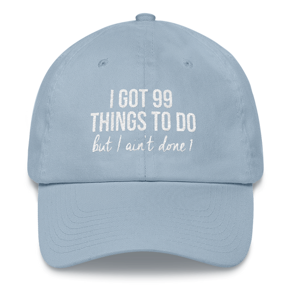 99 Things Peaked Hat (5 colors)