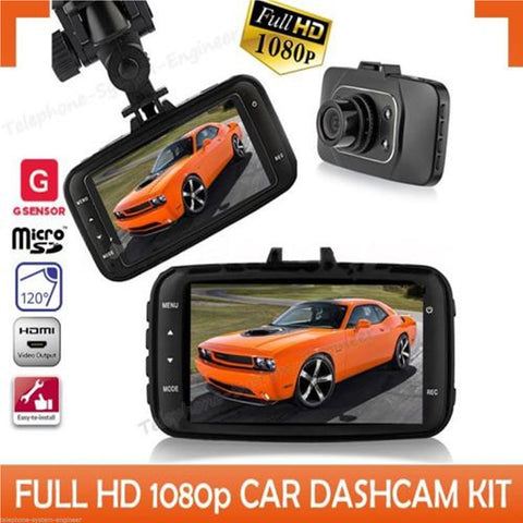 1080P DASH CAM HD CAR Vehicle DVR Video Camera Recorder G-Sensor HDMI GS8000L - Bunjey
