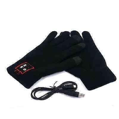 2 x BLUETOOTH GLOVES HANDSFREE MOBILE HEADSET SPEAKER SMART PHONE + TOUCH SCREEN - Bunjey