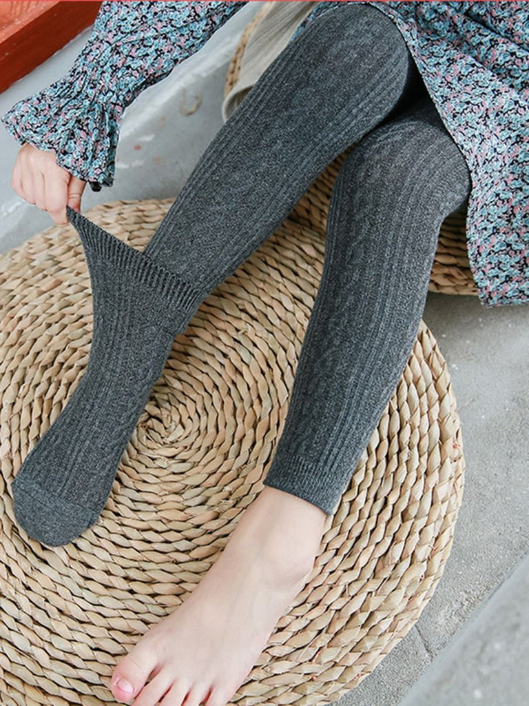 CABLE KNIT LEGGING SOCK SET