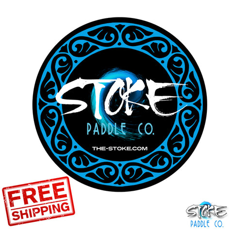 STOKE Paddle Co stickers