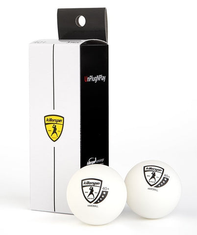 4-Star Ping Pong Balls And Black And White Box