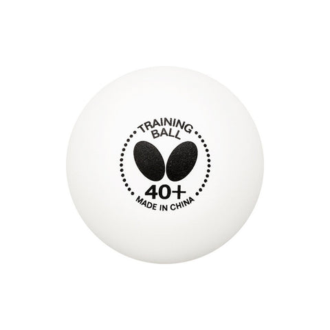 Butterfly 40+ Training White Table Tennis Ball