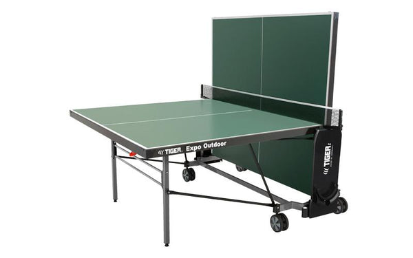 Tiger Expo Outdoor Ping Pong Table Shown in Playback View