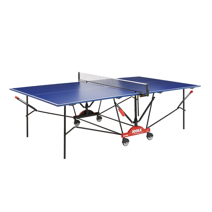 JOOLA Indoor/Outdoor Clima Table Tennis Table with Weatherproof Net Set