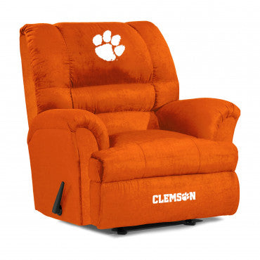 Clemson Tigers NCAA Big Daddy Microfiber Recliner