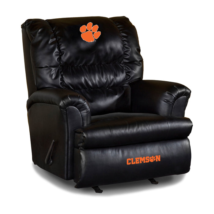 Clemson Tigers NCAA Big Daddy Leather Recliner