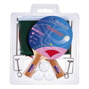 Garlando Thunder Plus 2-Player Table Tennis Racket Set