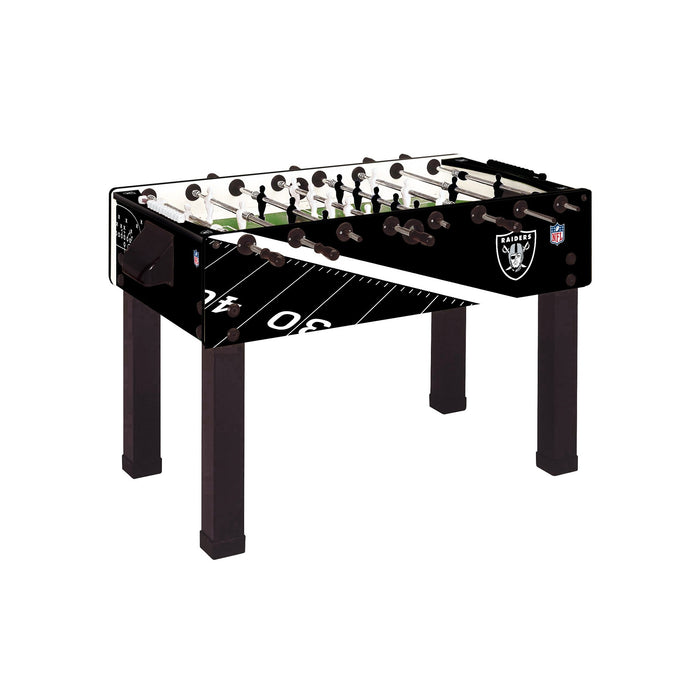 NFL Foosball Table - Las Vegas Raiders
