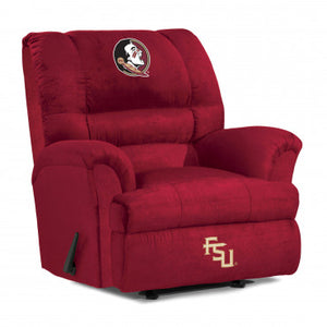 Florida State Seminoles NCAA Big Daddy Microfiber Recliner