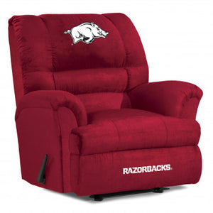 Arkansas Razonbacks NCAA Big Daddy Microfiber Recliner