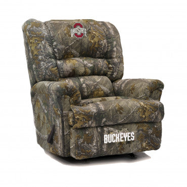 Ohio State Buckeyes NCAA Big Daddy Camo Recliner