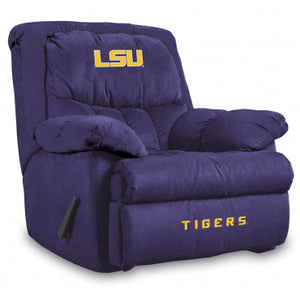 Lsu Tigers NCAA Microfiber Home Team Recliner