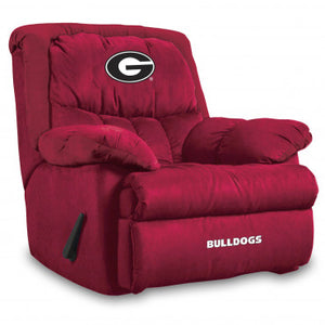 Georgia Bulldogs NCAA Microfiber Home Team Recliner