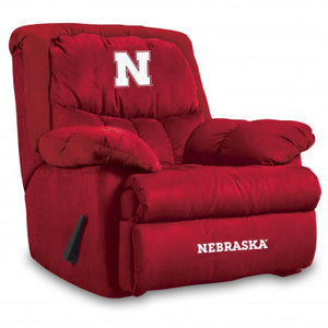 Nebraska Cornhuskers NCAA Microfiber Home Team Recliner