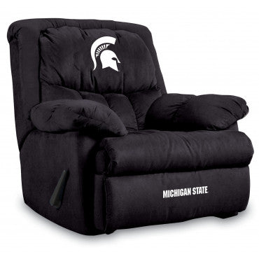 Michigan State Spartans NCAA Microfiber Home Team Recliner