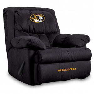 Missouri Tigers NCAA Microfiber Home Team Recliner