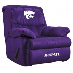 Kansas State Wildcats NCAA Microfiber Home Team Recliner