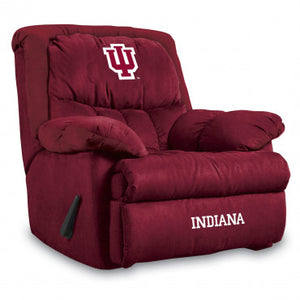 Indiana Hoosiers NCAA Microfiber Home Team Recliner